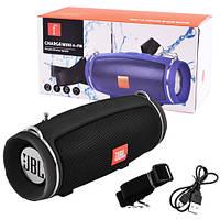 Bluetooth-колонки JBL CHARGE MINI 4+ FM, c функцією speakerphone, радіо, black, фото 1