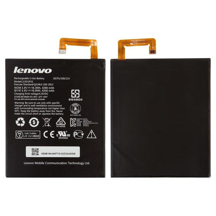 Акумулятор (Батарея) для планшета Lenovo Tab A8-50 L13D1P32 (4200 mAh)