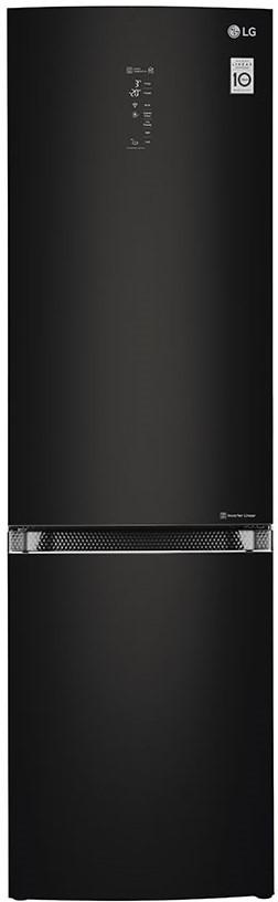 Холодильник з морозильною камерою LG GBB940BMQZT