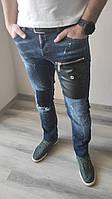 Оригинальные джинсы DSQUARED2 мужские, slim jean