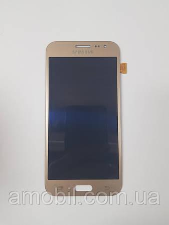 Дисплей Amoled Samsung Galaxy J2 J200 J200H gold orig б.у