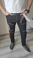 Оригинальные джинсы OFF-WHITE мужские, denim