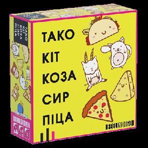 Настольная игра Тако Кіт Коза Сир Піца, фото 2
