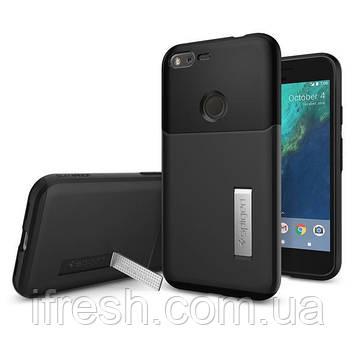 Чехол Spigen для Google Pixel Slim Armor, Black