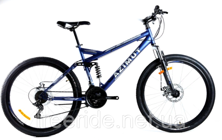 Двопідвісний велосипед Azimut Race 27.5 G-FR/D (19)