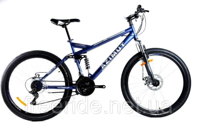 Двопідвісний велосипед Azimut Race 27.5 G-FR/D (19), фото 2