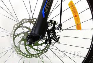 Двопідвісний велосипед Azimut Race 27.5 G-FR/D (19), фото 3