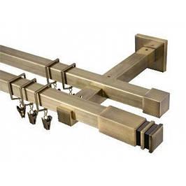 Карнизи металеві квадратні