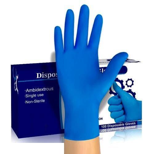 Медичні нітрилові рукавички 100 шт