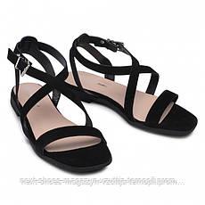 Сандалии женские черные Solo Femme Польша летние арт 75801-01-g70-000-07-00 модель 4971