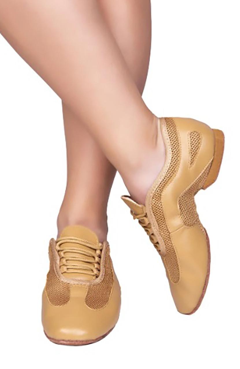 Туфли кожаные тренировочные SASAN 7920 бежевый