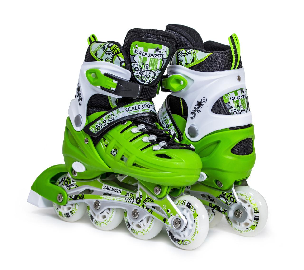 Ролики Scale Green Sports, розмір LF 905 38-42