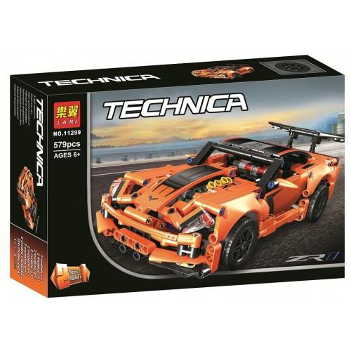 Конструктор Bela (Lari) «Technic» (11299) Chevrolet Corvette ZR1, 579 деталей