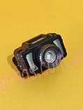 Аккумуляторный налобный фонарь с датчиком движения (S-67), фото 2