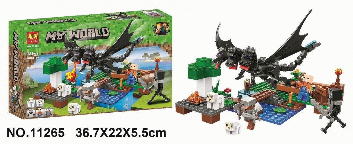"""Конструктор Bela """"Minecraft"""" 11265 Нападение Черного Дракона"""