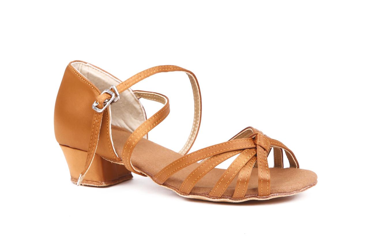 Туфлі дитячі для бальних танців кедр Rivage Line А 7100-25