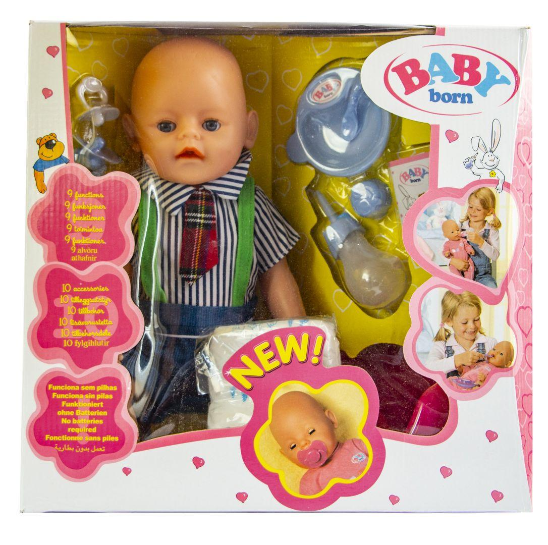Кукла Baby Born (Бейби Борн) с аксессуарами (К159)
