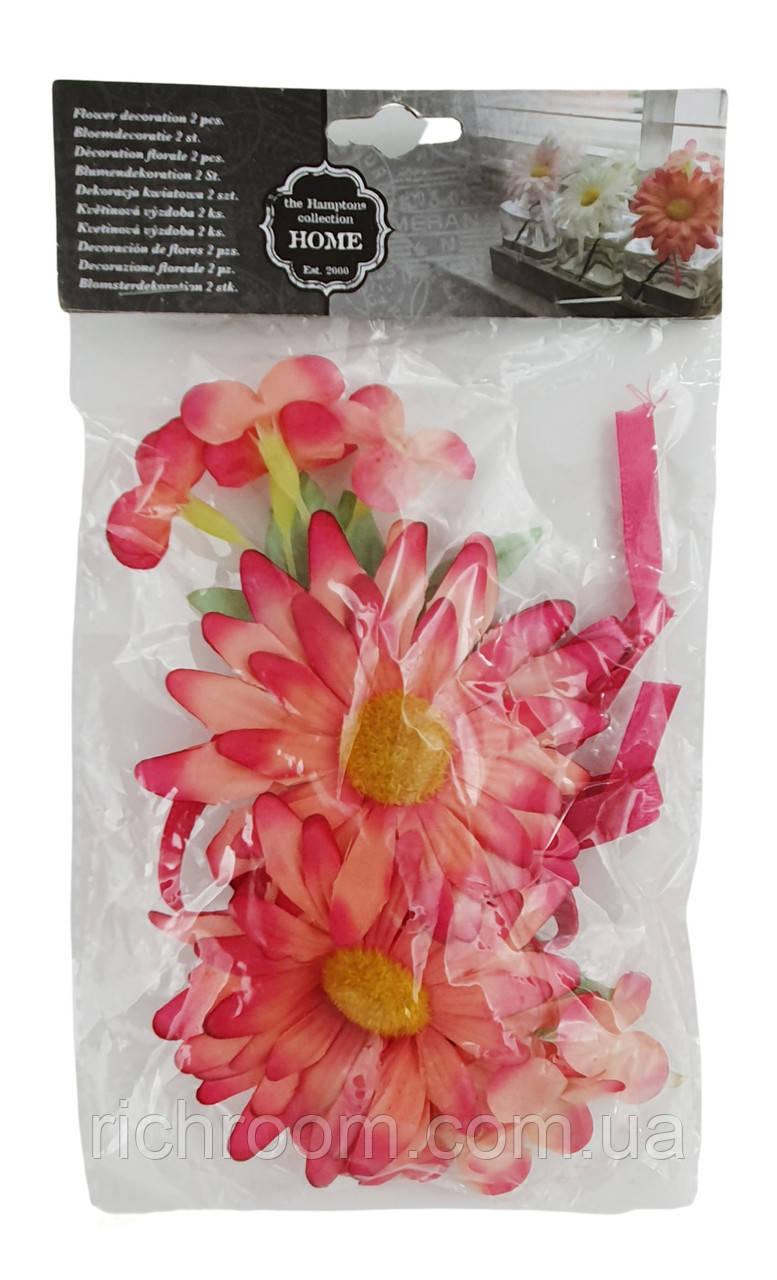 Цветы декоративные искуственные Home Accents, 2 шт, 14 см, весенний декор, пасхальное украшение