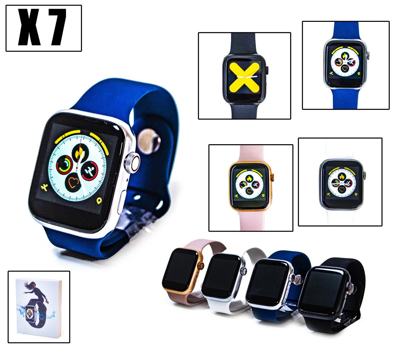 Розумні Годинник Smart Watch X7 Синій