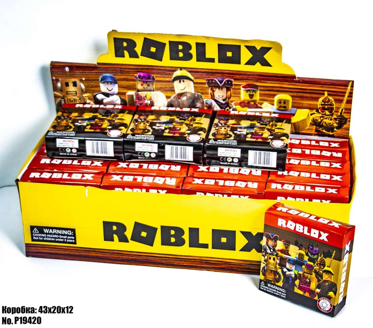 Герои Roblox P19420 (блок 24 шт)
