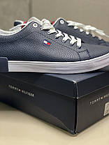 Оригинальные кеды кроссовки Tommy Hilfiger синие мужские размер 45-46, фото 3