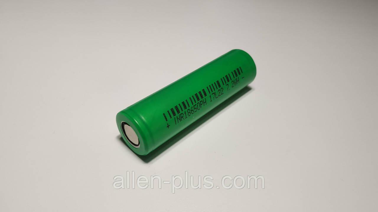 Аккумулятор высокотоковый INR18650PH 17L22, Li-Ion, 3.7V 7.2WH (тестовая емкость 1500mAh)
