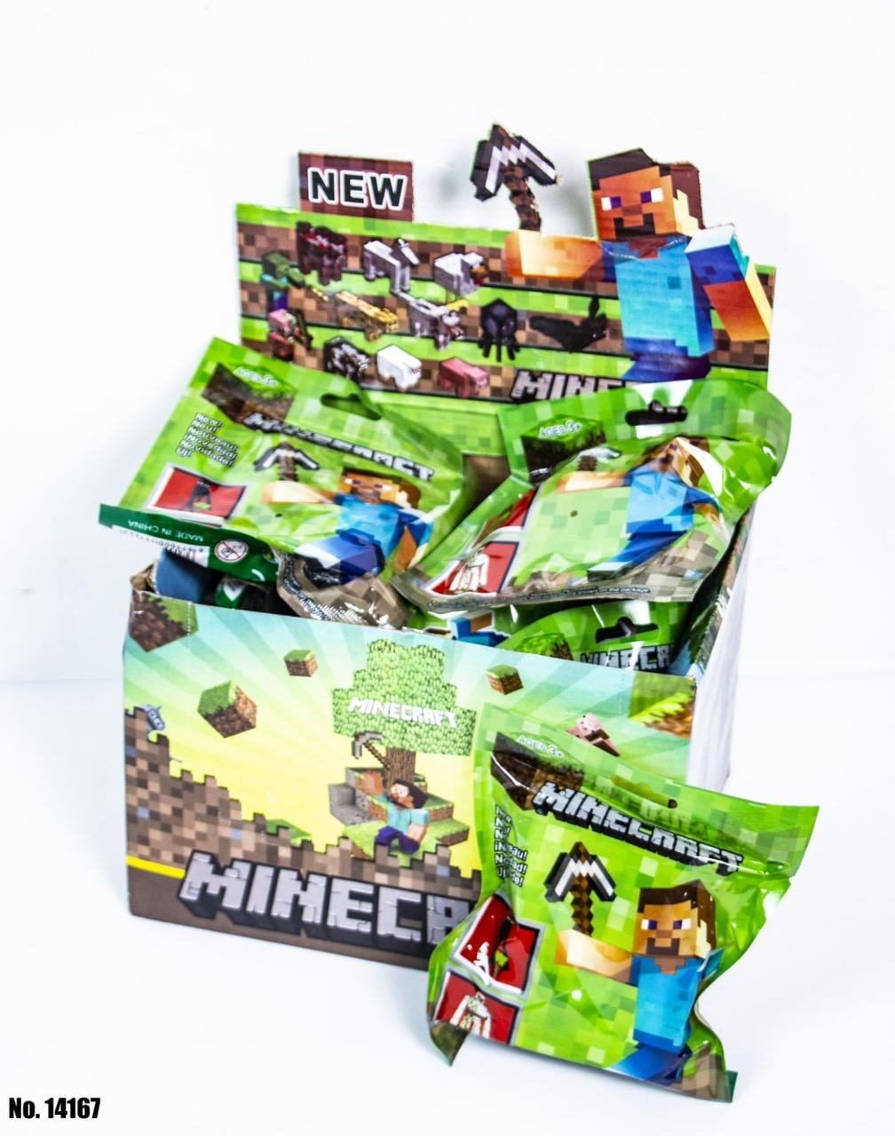 Фігурки Minecraft 14167 (18 в блоці)