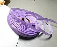 РЕПСОВА стрічка 0,6 см ≈23 метри, стрічка репс бузковий, фото 1