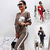Р 42-54 Брючний костюм з лампасами 23652