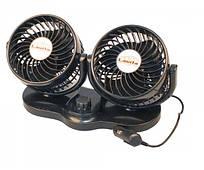 """Вентилятор автомобільний, подвійний діаметр 5"""", Lavita LA 180208"""