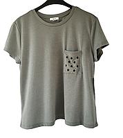 Качественная короткая женская футболка, ARDENE,см.замеры в ПОЛНОМ описании товара