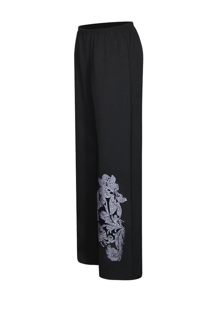 Женские прямые классические брюки с высокой посадкой Триумф