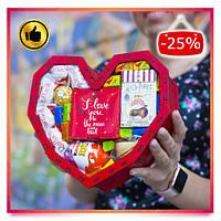 Подарочный набор сладостей для девушки, жены, любимой, сестры, подруги на 8 Марта