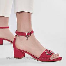 Сандалии женские розовые Solo Femme Польша летние арт 73412-01-L57/000-07-00 модель 4968