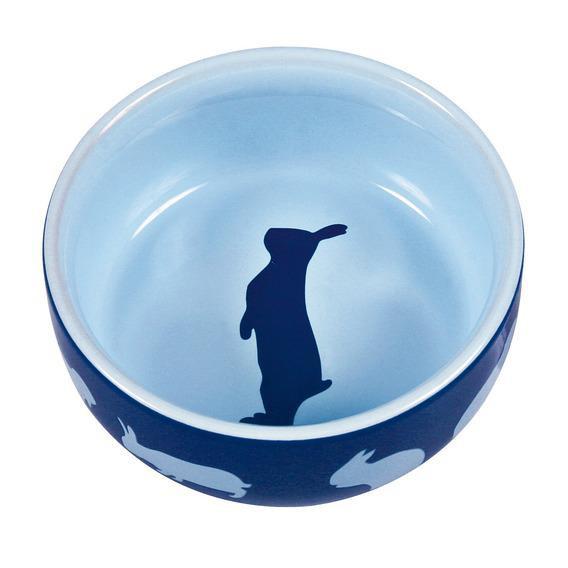 Миска керамическая для кроликов Trixie CERAMIC BOWL, 250 мл / 11 см