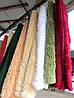 Ворсистое бамбуковое  покрывало на кровать разные окрасы