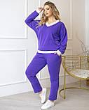 Костюм фиолет, фото 2