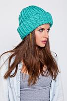 Модная вязаная шапка, фото 1