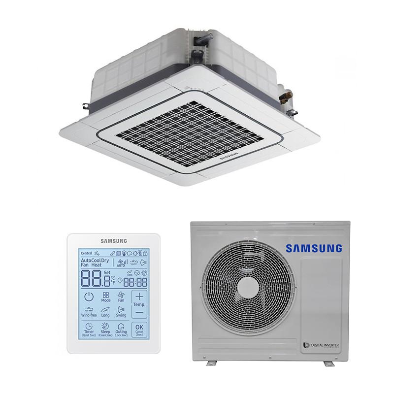 Інверторний кондиціонер касетний Samsung AC100JN4DEH/AF / AC100JX4DEH/AF (серія ECO)