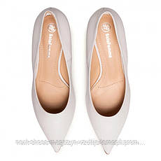 Туфли женские белые Solo Femme Польша демисезонные арт 48901-01-H52-000-04-00 модель 4966