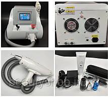 Аппарат Лазер, для удаления татуировки и карбонового пилинга Портативный Q nd-yag, Лазер для тату