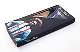Подтяжки шелковые синие Paolo Udini на подарок, фото 2