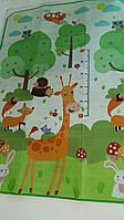 Игровой коврик, Коврик двусторонний, EVA, Развивающий детский коврик D-00255