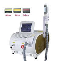 Лазерний апарат для епіляції (видалення волосся) OPT, IPL, SHR, апарат для ліфтингу, Фотоепіляція