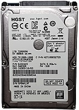 Жесткий диск HDD 1TB 7200rpm 32MB SATA III 2.5 Hitachi 7K1000-1000 HTS721010A9E630 6P0WKLXF