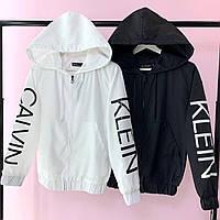 Женская стильная ветровка Кэлвин, весенняя женская куртка с капюшоном