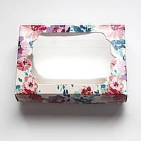 Коробочка для подарунків з вікном 130х90х35 мм., фото 1