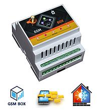 GSM РОЗЕТКА 5x2 (пять каналов) - SMS управление - Терморегулятор (Максимальная версия)