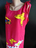 Молодежное платье из штапеля купить оптом. , фото 1