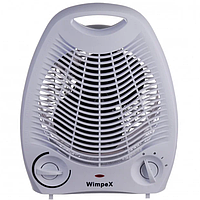 Компактный Тепловентилятор электрический обогреватель Wimpex WX-424 2000W. Лучшая ЦЕНА